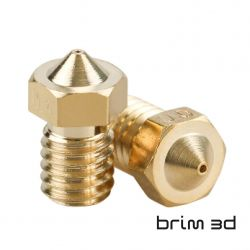 V6 Brass Nozzle 0.25 mm /...