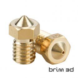 V6 Brass Nozzle 0.25 mm /...