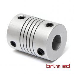 Acoplador Flexível 5mm 8mm...