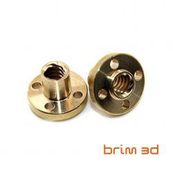 Trapezoid Brass nut T8